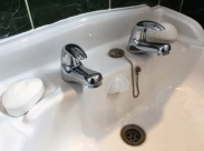 Bathroom sinks, taps, showers and baths